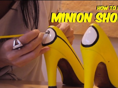 How to make Minion Shoes