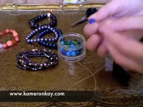 How to make Stretch Bracelets