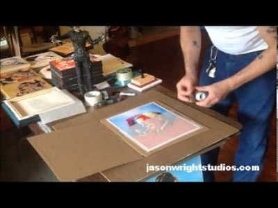How to ship prints, or how I ship them