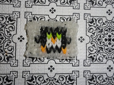 RAINBOW LOOM IMAGE. PENGUIN TUTORIAL PART 2