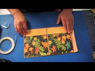 Tutorial Mini Álbum com envelopes C4 2ªparte