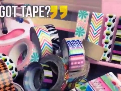 Video 3 DIY Planner on a Budget Series UPDATE|WASHI|Duct Tape