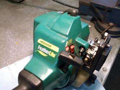 Weedeater Carburetor Rebuild & Fuel Line Repair Part 1 of 3