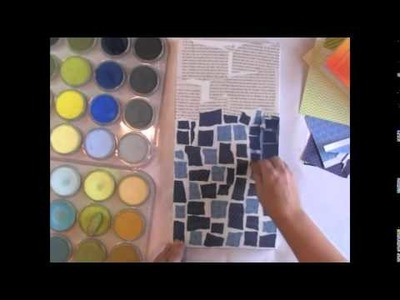 2013 Art Lessons Volume 4: Painting with Pastels and Paper with Donna Downey