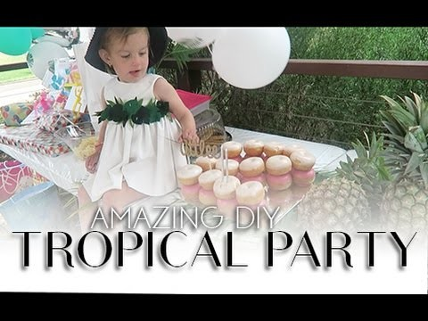 Amazing DIY Tropical Party | 16.08.15 | Day 593
