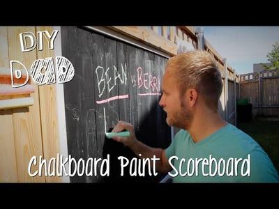BACKYARD SCOREBOARD + BIG ANNOUNCEMENT! | DIY Dad: epoddle