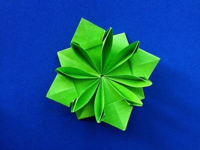 """Beautiful Origami - Paper  """"Flower Gift Pin.Label"""" - Happy Friendship day!"""