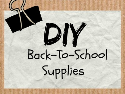 DIY Back-To-School Supplies (Coolpencilcase) | Owlbeteen