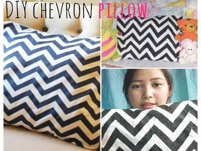 DIY: Chevron Pillow Case | berrypink23