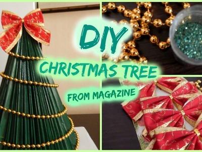 DIY- Christmas Tree From Magazine