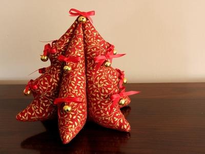 DIY Christmas Tree Plushie ~ Arbolito de Navidad de peluche