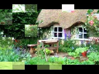 DIY Decorating ideas for English cottage garden