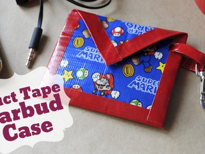 DIY Duct Tape Earbud Case | Great Gift for Father's Day!