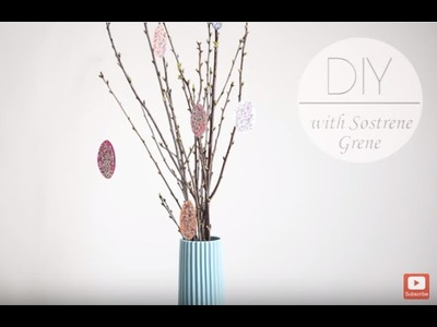 DIY: Easter eggs by Søstrene Grene