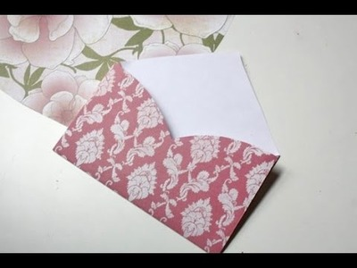 Diy Easy, Cute Envelopes! - Crafty Monday!