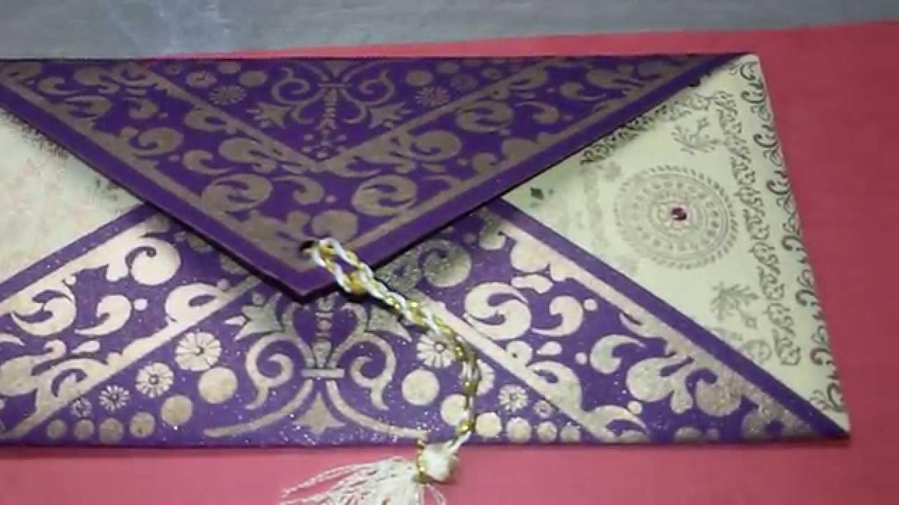 Diy envelope design idea
