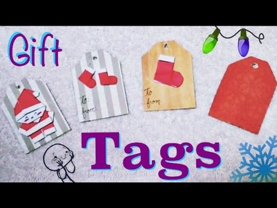DIY: Gift Tags out of Cardboard Quick. Easy. Cute. | Xmas Decoration