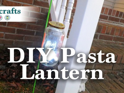 DIY Pasta Lantern
