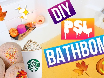 DIY PUMPKIN SPICE LATTE BATHBOMB!