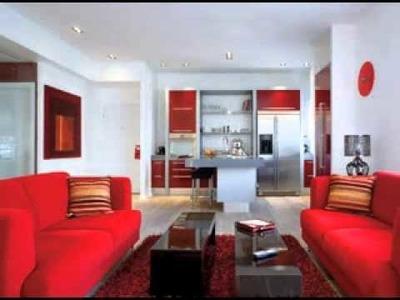 DIY Red living room decor ideas