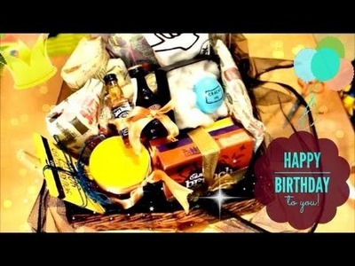 Father's Day.Birthday Gift Ideas, DIY Gift Basket