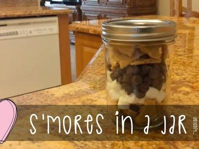 Hello DIY | No Mess S'mores In a Jar