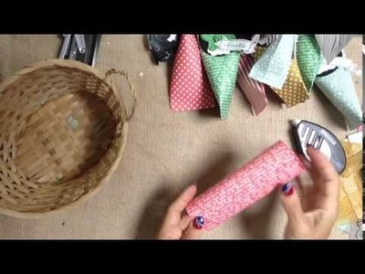 How make Different Size Paper Sour Cream Favors
