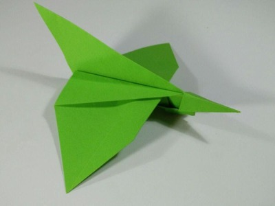 How to make a paper airplane - Origami pelican