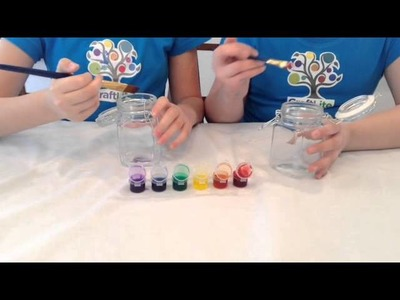 How to make DIY Stained Glass Jars | CraftLite