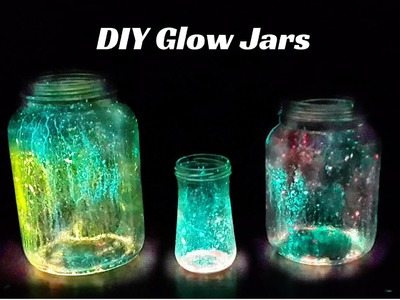 How to Make Glow Jars | DIY Christmas Decoration Ideas