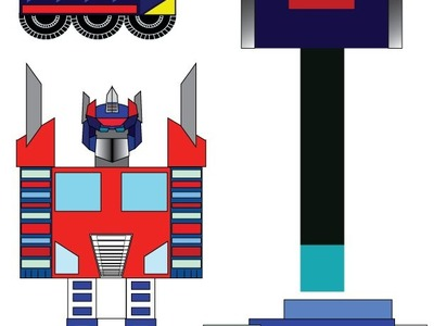 How To Make Paper Transformers: Optimus Prime!