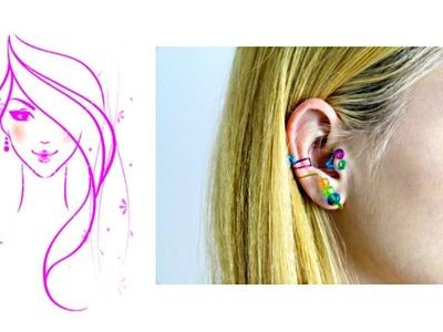 MORENA DIY: HOW TO MAKE EAR CUFFS