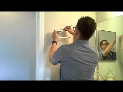 Mounting a Bathroom Towel Ring: Easy DIY Project!