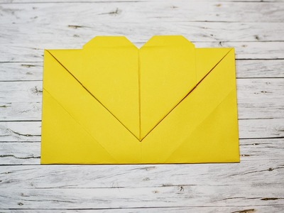 Origami - How to make a paper envelope