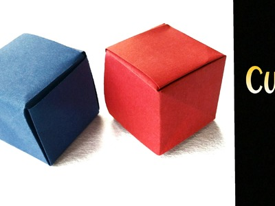 """Origami Paper """"Seamless Cube"""""""