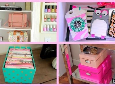 Storage & Organization Ideas + DIY Chanel Box