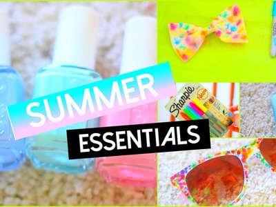 Summer Essentials|DIY Hair Bow