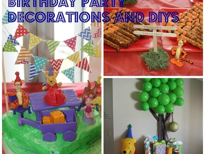 Winnie the Pooh Birthday Party* DIY+ChitChat+Q&A