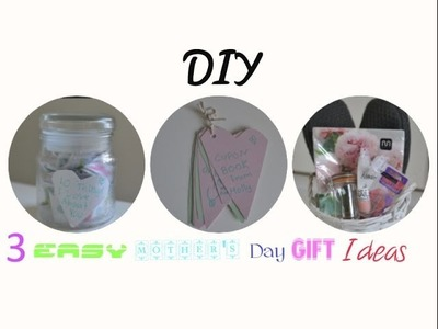 ❥ 3 Easy Mother's Day Gift Ideas | DIY