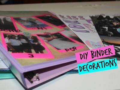 Back To School: DIY Binder Decorations!| Makaila Bucago