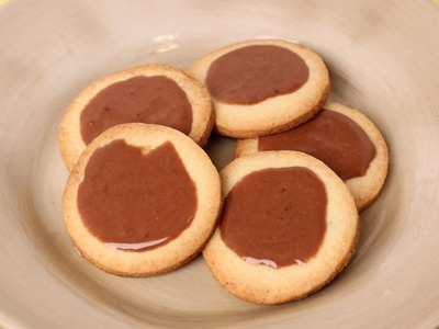 Butter Cookies with Chocolate Glaze Recipe - Laura Vitale - Laura in the Kitchen Episode 455