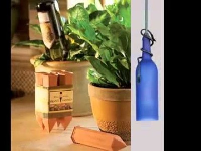 Creative Glass bottle craft ideas