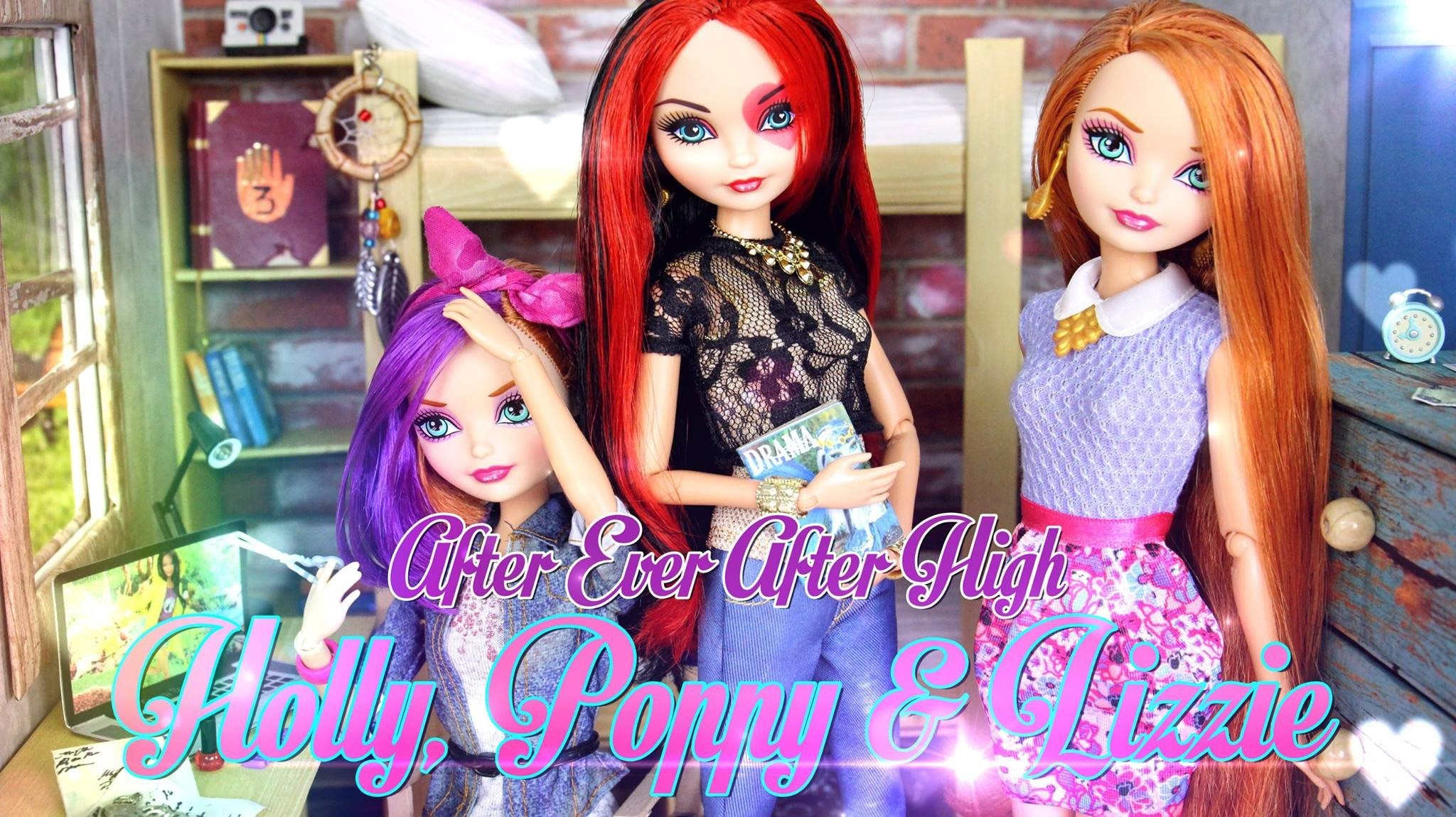 Custom Doll: After Ever After High Holly, Poppy & Lizzie