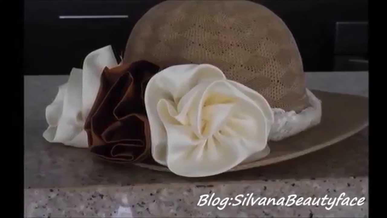 DIY COMO DECORAR UN SOMBRERO VINTAGE. HOW TO DECORATE A HAT VINTAGE