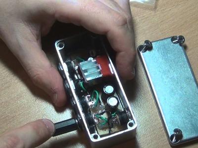 DIY Guitar Pedal Power Filter & Regulator - Build Report