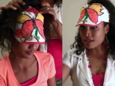 DIY: HAIRSTYLE CAP make your old cap fit any hairdoo (no sewing)