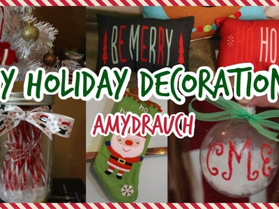 ❄ DIY HOLIDAY DECOR | collab with laurensvanityy ❄
