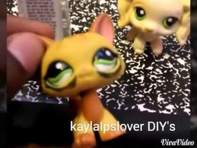 DIY:how to make lps stuff!! Really easy! !