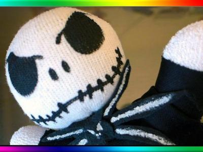 DIY Nightmare Before Christmas Sock Doll - Jack