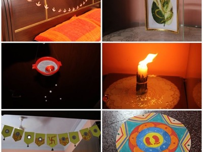 DIY room decor for diwali
